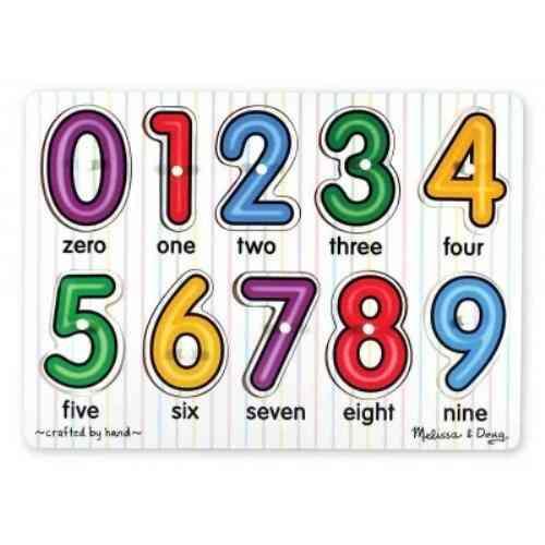 See-inside Numbers Peg